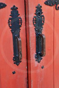 City of St. Augustine, Red Church Door