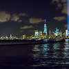 Tribute in Lights in New York City, from Jersey City, NJ