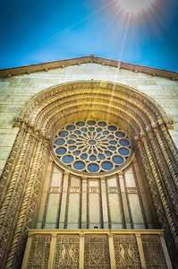 Grand Entrance to the Mausoleum