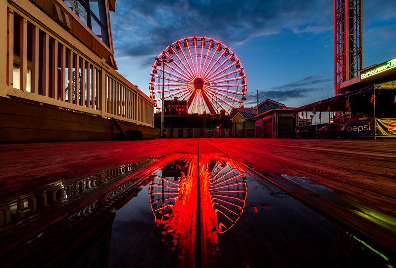 Ferris Wheel Reflection, Seaside Heights 8/19/20