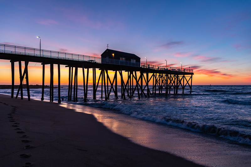 Predawn Colors Over Belmar Pier 6/9/19