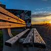 Sunrise Over Park Bench 5/5/20