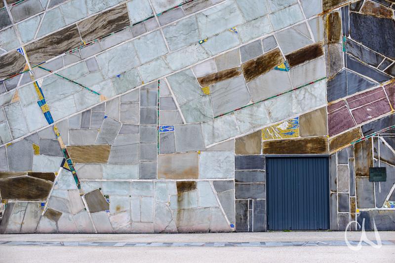 Fassade der Stuttgarter Liederhalle