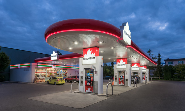 Petrocanada Station, North Vancouver