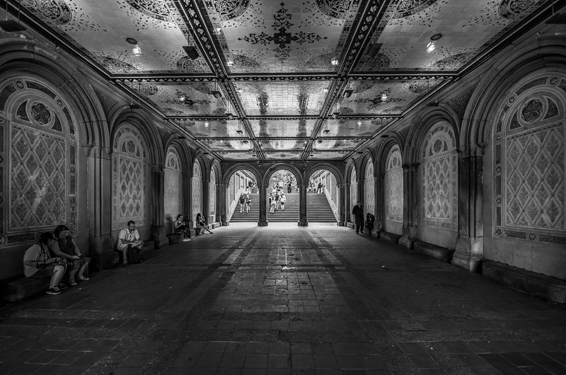 Bethesda Terrace in Central Park, New York City 6/28/18