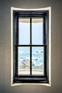 Lighthouse Window, Study 2. Point Arena Lighthouse