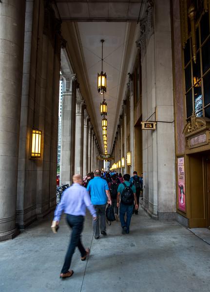 Busy Chicago Sidewalk 9/13/16