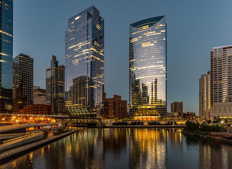 Chicago Skyline at Dawn 9/14/18