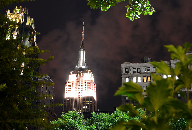 Empire State Building... From Bryant Park.
