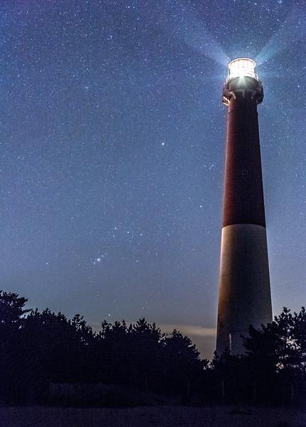 Barnegat Lighthouse & Orion 2/23/17