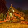 St. Catherine's Chapel at Night, Farmingdale, NJ