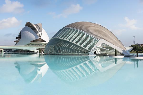 Ciudad de las Artes y las Ciencias; Valencia, Spain