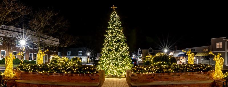 Christmas Scene In Spring Lake 12/21/19