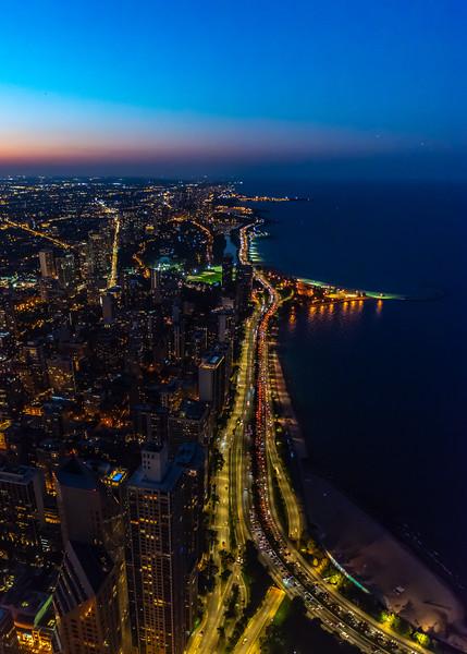 Chicago Skyline Looking North 9/13/18