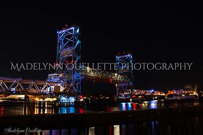 Memorial Bridge Rising