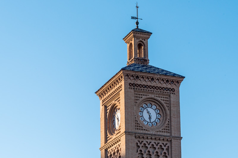 Toledo Train Station Clock Tower