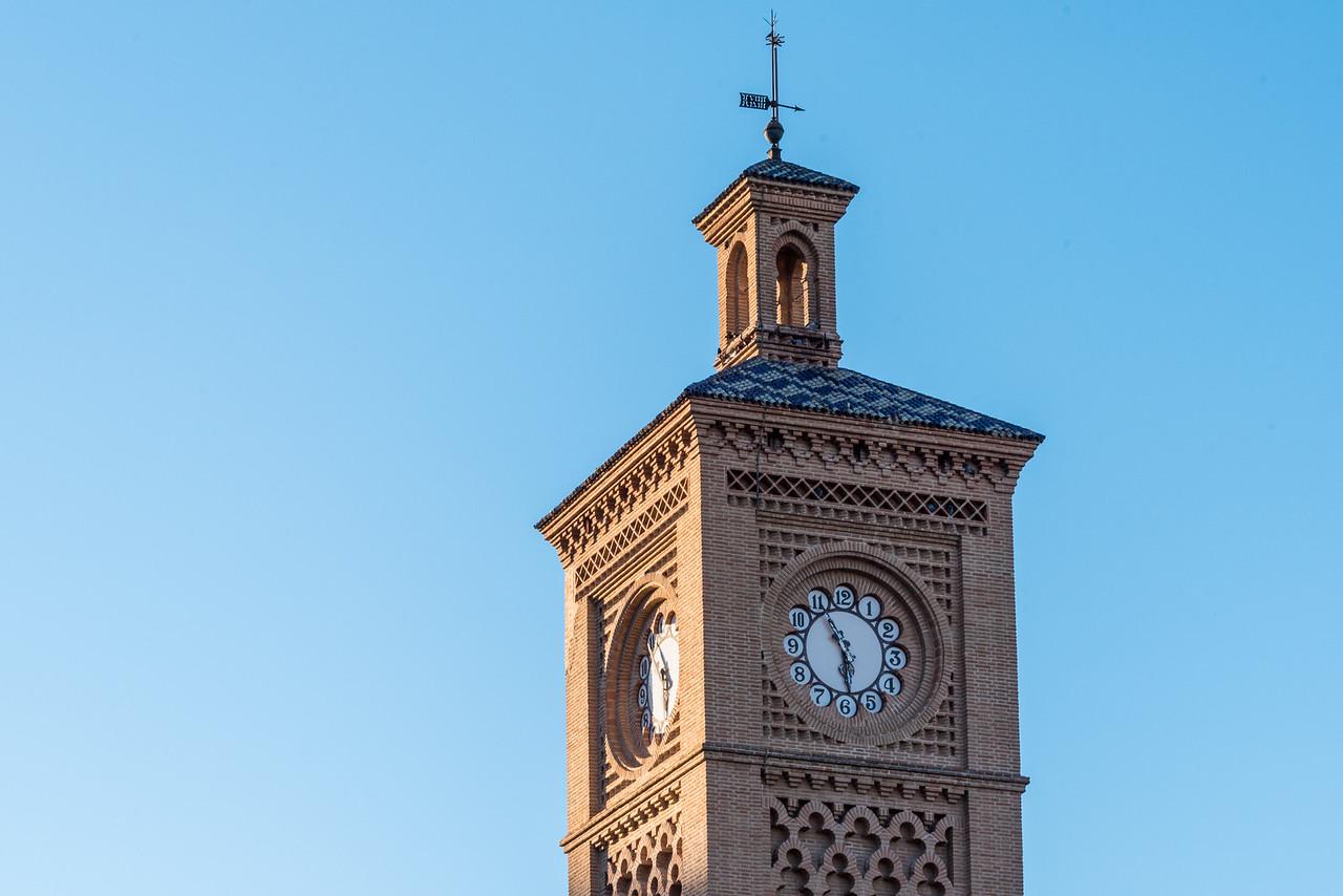 Toledo Train Station Clock Tower