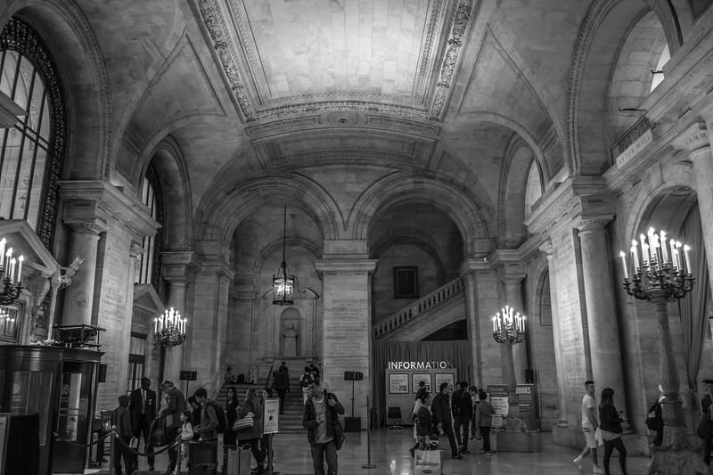 Library, New York City, NY