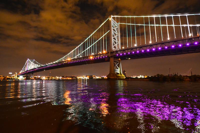 Ben Franklin Bridge, Camden, NJ