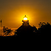 A Fiery Sunset Behind The East Point Lighthouse 6/13/20