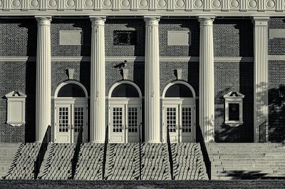 Andover Memorial Building II, duotone