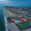 An Aerial View Of Seaside Heights Boardwalk 8/19/20