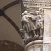 A column in Dubrovnik