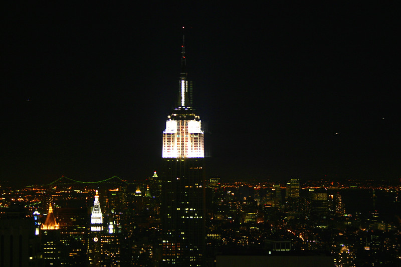 Empire State Bldg night