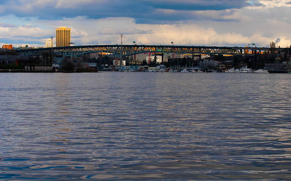 Bridge<br /> Lake Union, Seattle, Washington