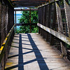 Walkway<br /> Boulevard Park, Bellingham, Washington