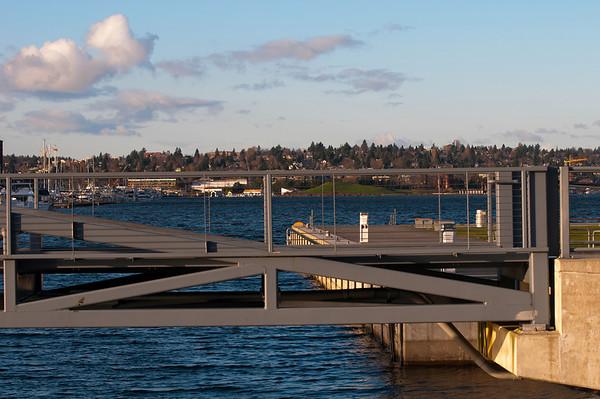 Pedestrian Bridge<br /> Lake Union Park, Seattle, Washington