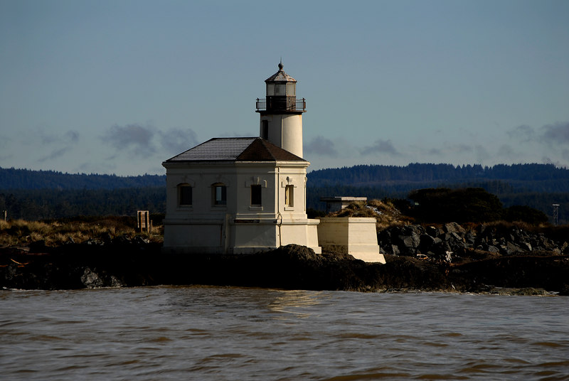 Coquille River Lighthouse<br /> Bullards Beach State Park, Bandon, Oregon
