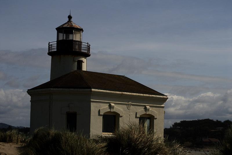 Coquille River Lighthouse<br /> Bullards Beach State Park, Bandon, Oregon