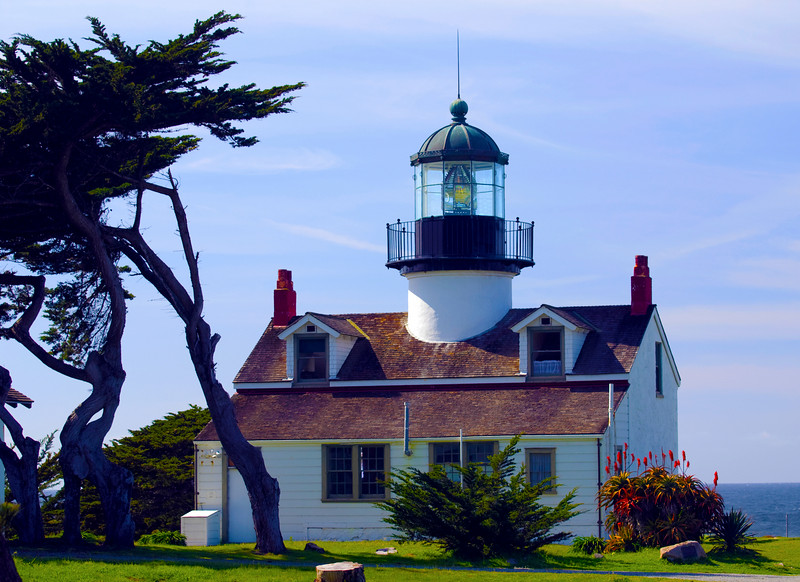 Point Pinos Lighthouse <br /> Monterey Peninsula, California