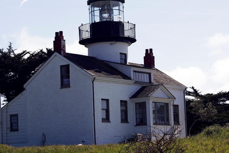 Point Pinos Lighthouse<br /> Monterey Peninsula, California