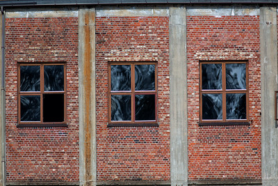 Old Factory Windows
