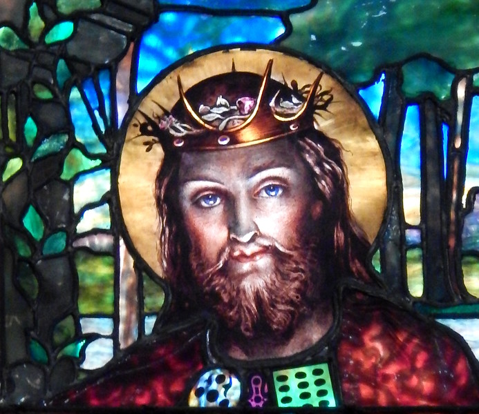 Detail from Christ Light of the World