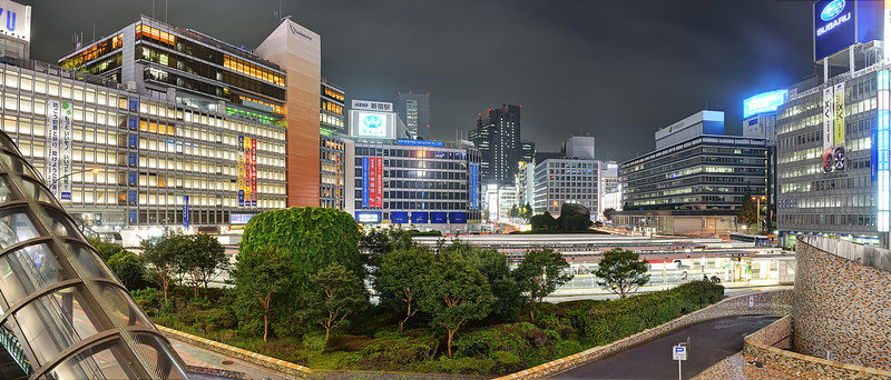 Shinjuku Station West Exit