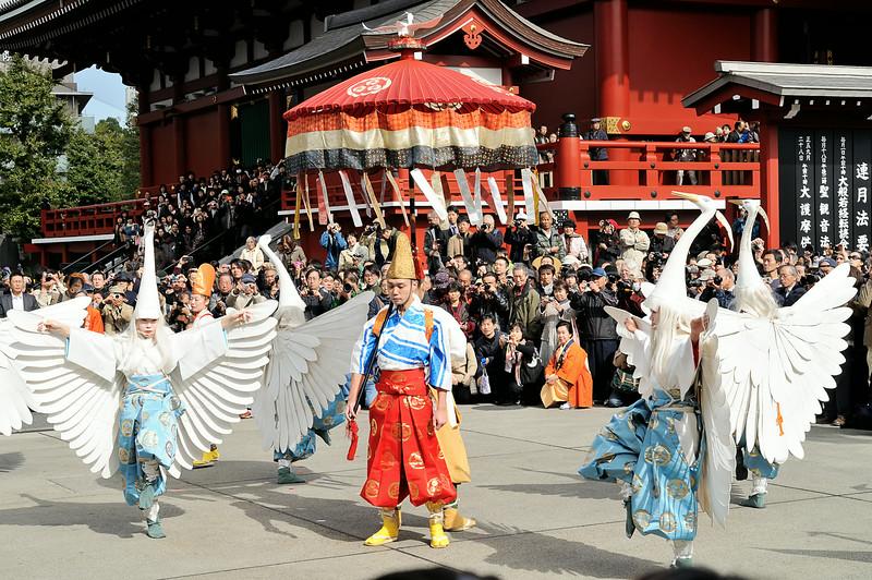 Egret Dance (白鷺の舞)