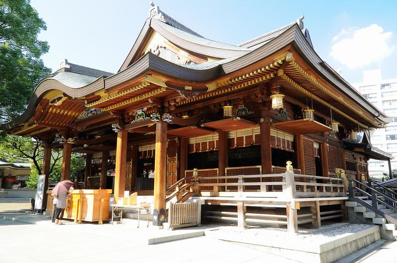 湯島天満宮神社 [Yushima Tenmanguu Shrine]. Ueno. Tokyo