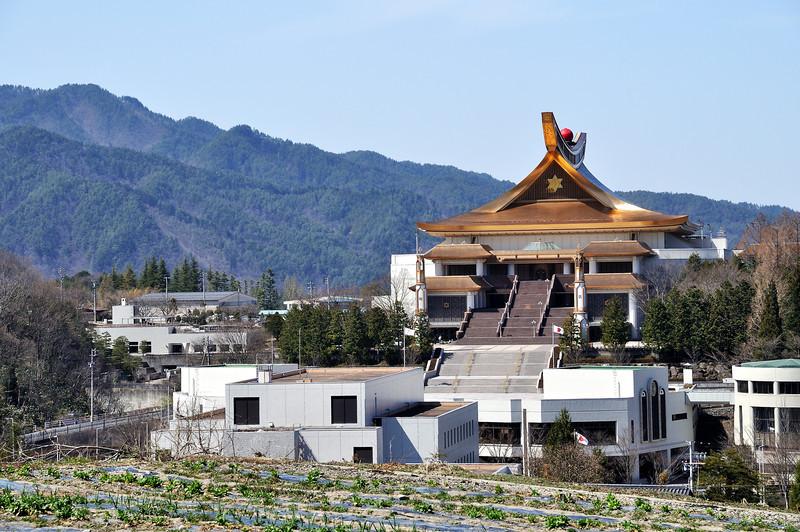 Sukyo Mahikari Main World Shrine  (崇教真光世界総体山宝珠)<br /> Takayama