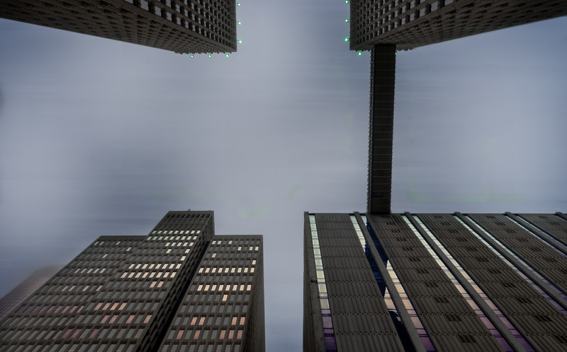 Gotham City: Peachtree Center edition