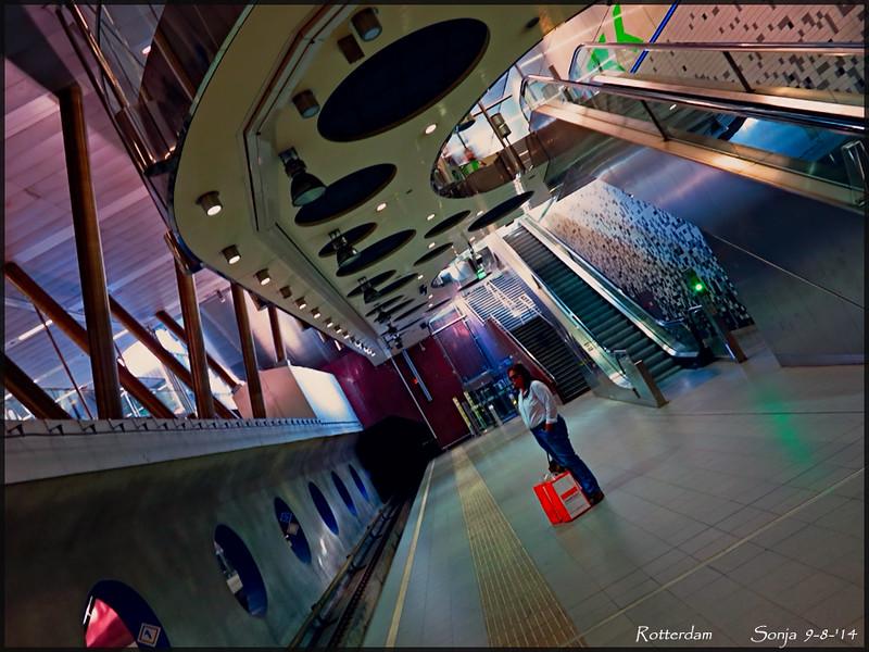 Metrostation Wilhelminaplein Rotterdam