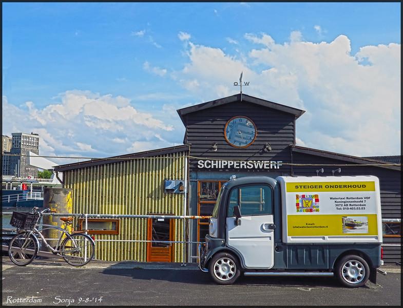 Schipperswerf Kop van Zuid | Rotterdam