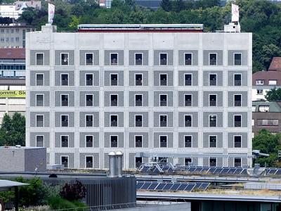 Die neue Stadtbibliothek von Stuttgart.