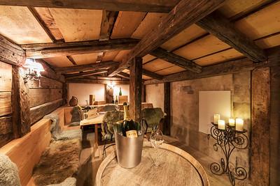 Badrutt's Palace Weinkeller KRUG-room
