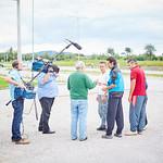 ORF-Dreh für die ZIB2 am Montag, 22. August: Besprechung mit den Asylwerbern für ihre Tätigkeit. <br /> Foto: Stadt Melk / Gleiß