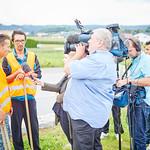ORF-Dreh für die ZIB2 am Montag, 22. August: Zia Hosseini im Interview.<br /> Foto: Stadt Melk / Gleiß