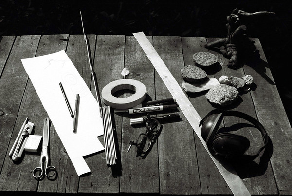 Arbeitstisch von Jo Miard