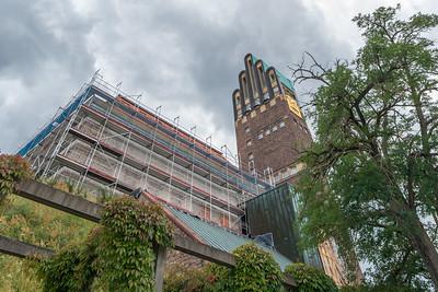 Baustelle Mathildenhöhe, 19. Juli 2019 (Foto: Christoph Rau)